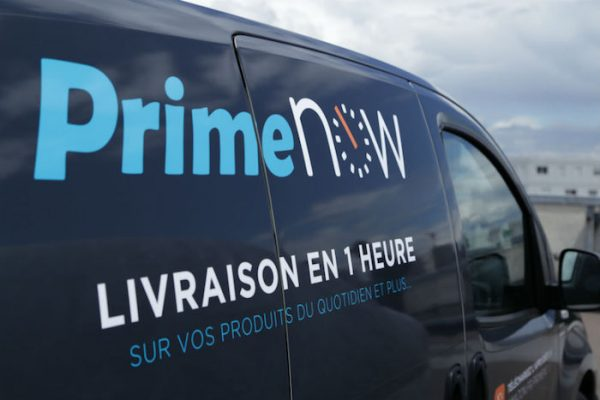 Amazon Prime Now France