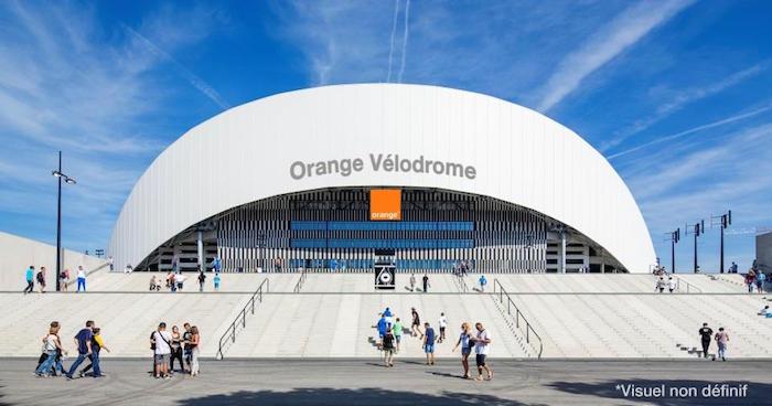 Orange Velodrome Marseille