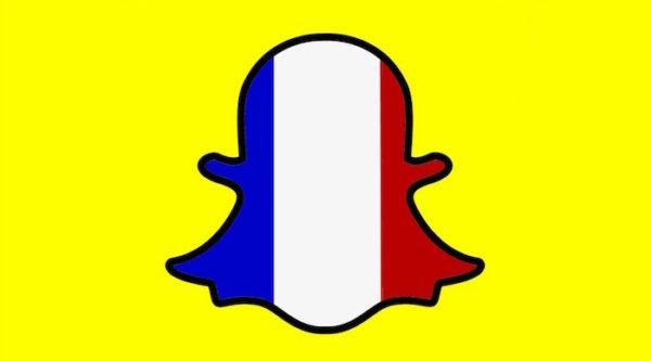 Snapchat Drapeau France