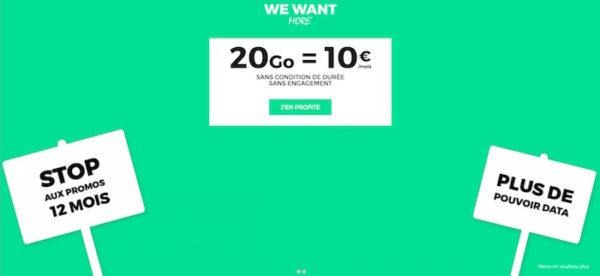 Bon Plan SFR Forfait 10 euros