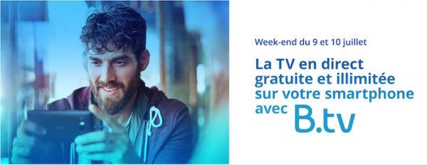 Bouygues Telecom Week End TV Gratuite