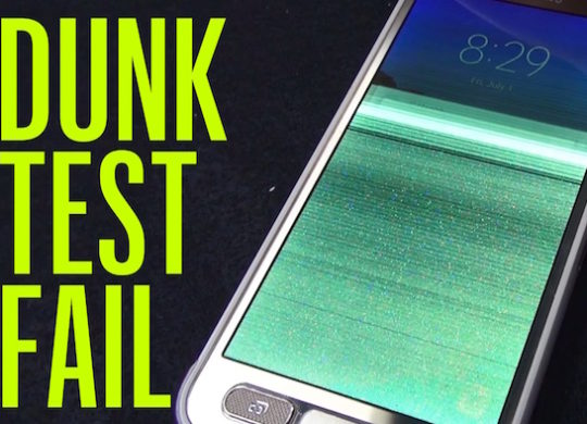 Galaxy S7 Active Echoue Test Eau