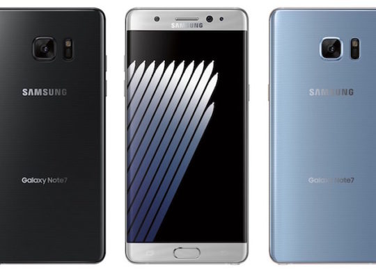 Samsung Galaxy Note 7 Officiel Avant Arriere 2