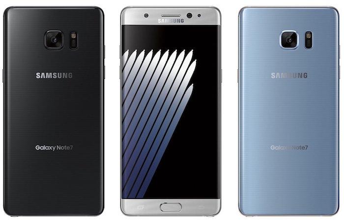 Samsung Galaxy Note 7 Officiel Avant Arriere 2