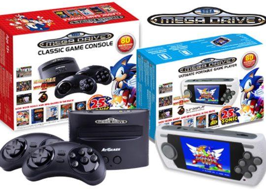 consoles Sega retro gaming
