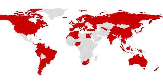 free carte monde