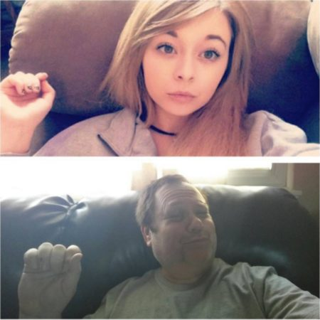 troll selfie dad 2