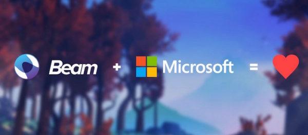 Beam Microsoft Rachat
