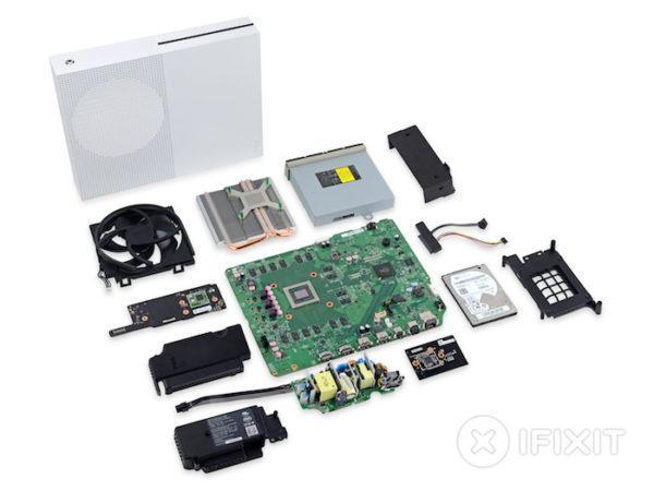 Demontage Xbox One S