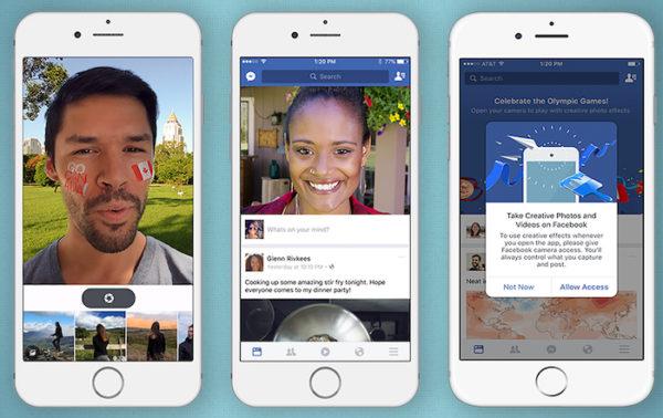 Facebook Filtres Autocollants Photos
