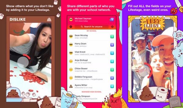 Facebook Lifestage Application iPhone