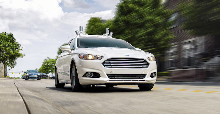 Ford Voiture Autonome