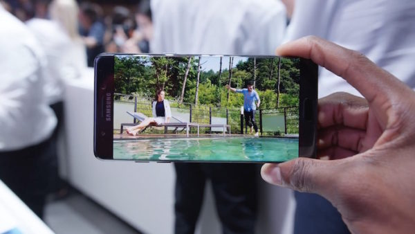 Galaxy Note 7 Avant Ecran