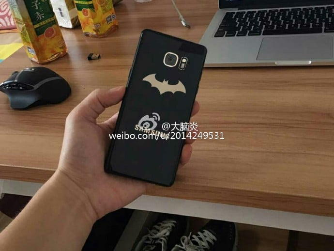 Galaxy Note 7 Batman