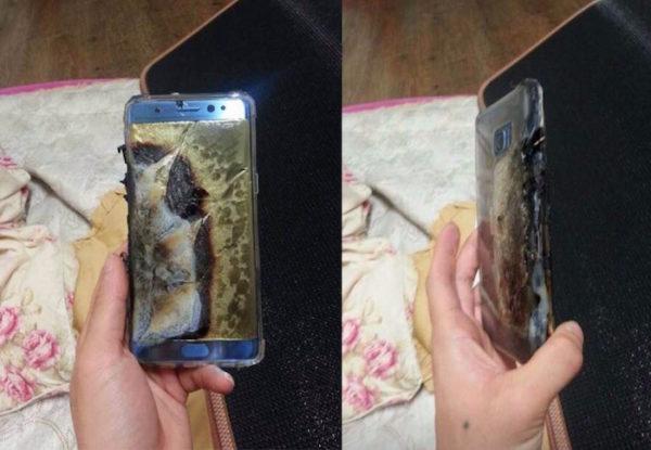 Galaxy Note 7 Explose