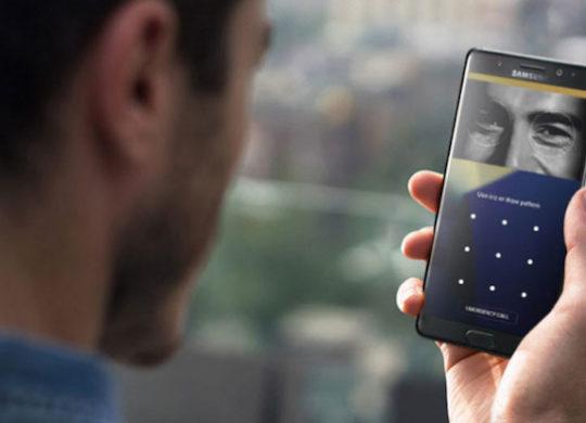 Galaxy Note 7 Scanner Retinien Iris