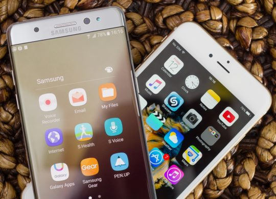 Galaxy Note 7 iPhone 6s Plus