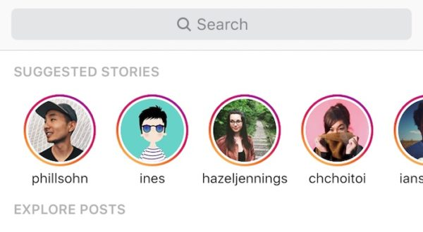 Instagram Stories Suggestions