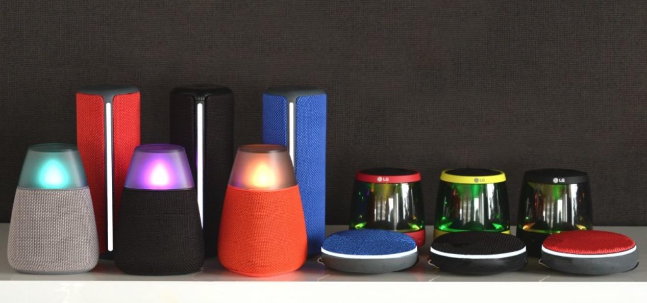 LG Speakers - Enceintes
