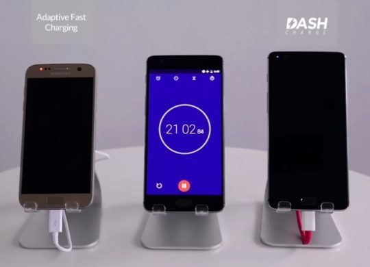 OnePlus 3 vs Galaxy S7 Recharge Rapide