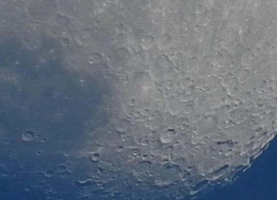 P900 moon test