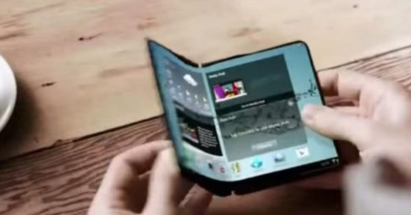 Samsung Ecran Pliable 600x314
