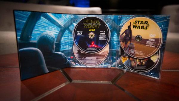 Star Wars Reveil Force 3D Blu Ray