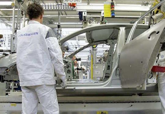 Volkswagen Chaine Montage