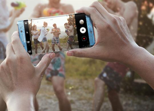 Galaxy Note 7 Appareil photo Avant