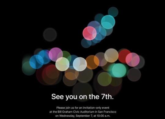 Invitation-Keynote-Apple-7-Septembre-2016