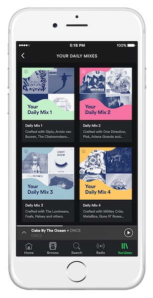 spotify-daily-mix-playlist