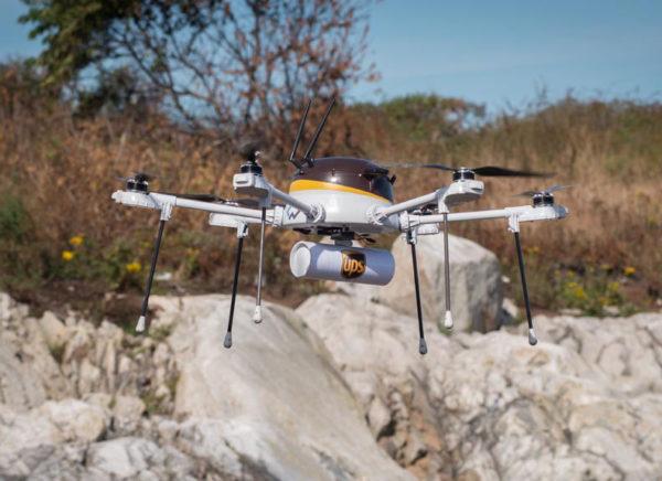 UPS Drone 600x436