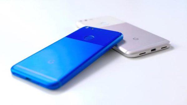 Google Pixel Bleu Google Pixel XL Blanc 2 600x337