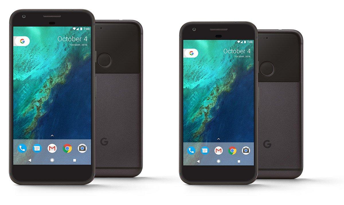 Google Pixel Pixel XL Officiel Avant Arriere