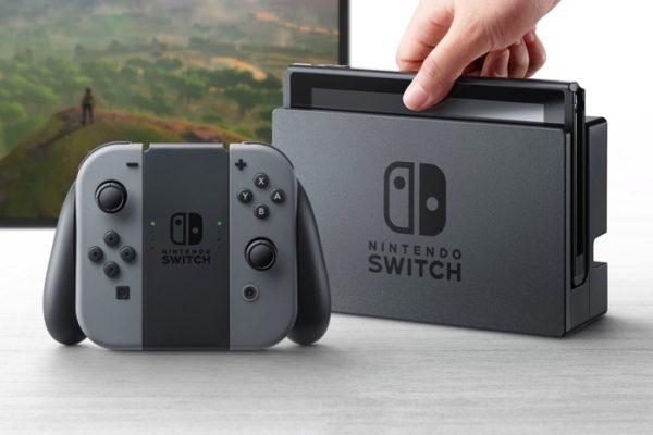 Nintendo Swtich Et Manette Officiel 600x400