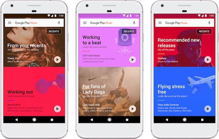 Google Play Musique Novembre 2016