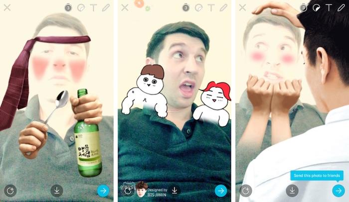 Snow Concurrent Snapchat