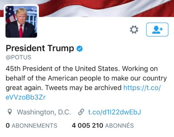 compte-twitter-potus-donald-trump