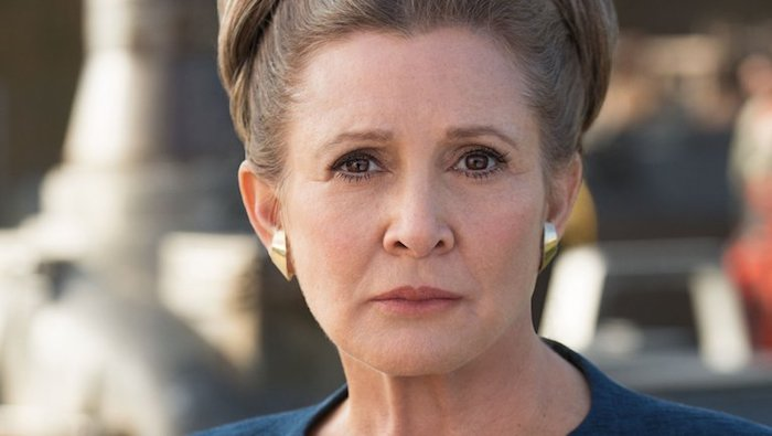 Generale Leia Carrie Fisher