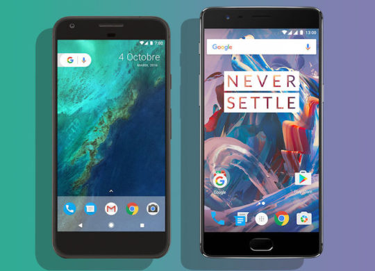 Google Pixel vs OnePlus 3T