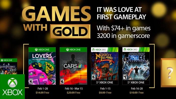Xbox Live Gold Jeux Offerts Fevrier 2017