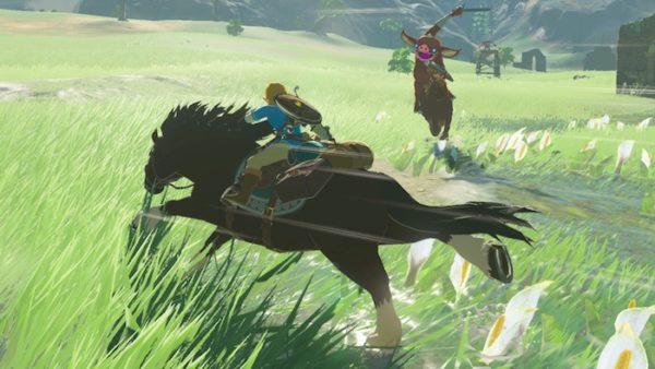 Zelda Breath Wild Cheval 600x338