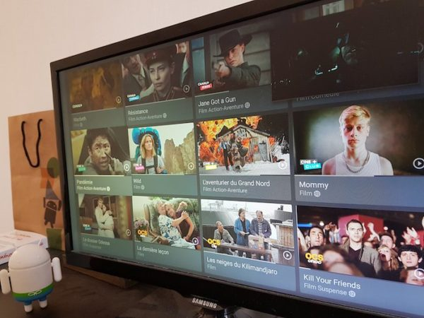 MyCanal Android TV 600x450