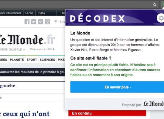Decodex Extension