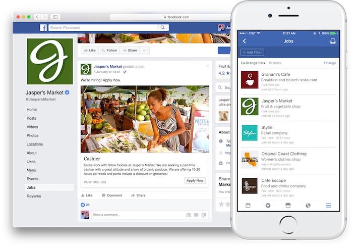 Facebook Offres Emploi Pour Entreprises