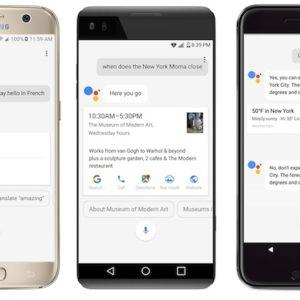 Google annonce l'arrivée de Google Assistant sur tous les smartphones sous Android Marshmallow et Nougat