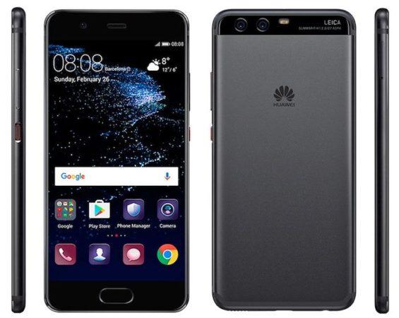 Huawei P10 Avant Arriere Cote Officiel 565x450