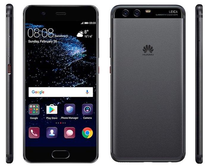 Huawei P10 Avant Arriere Cote Officiel