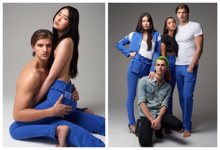 Jeans Google Pixel Rellement Bleu