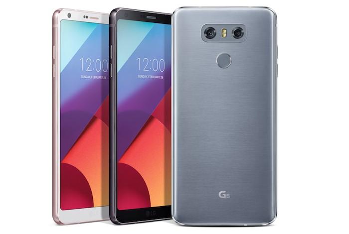 LG G6 Officiel Avant Arriere 2